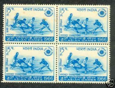 Hockey Stamps 1966