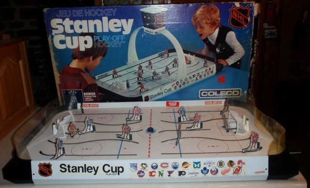 Hockey Table Top Game 1980s 1 X