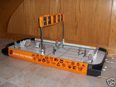 Hockey Table Top Game 1980s 1
