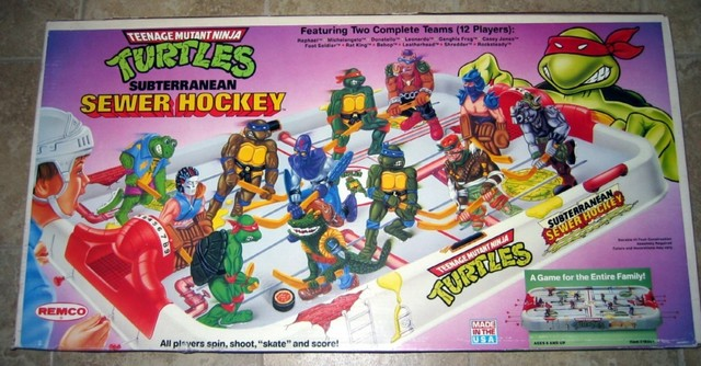Hockey Table Top Game 1990