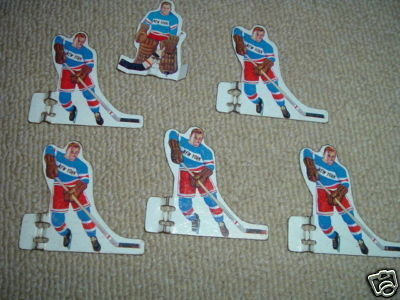 Hockey Table Top Game Players 1960s 2