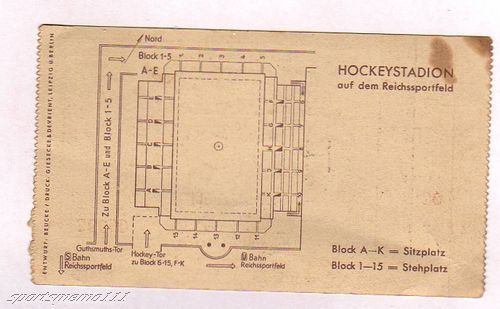 Hockey Ticket 1936 2b