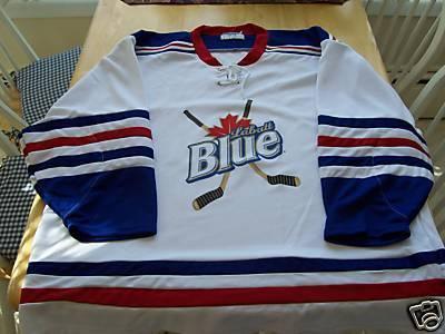 Ice Hockey Beer Jerseys 1 Labatts Blue  5a57ca902df