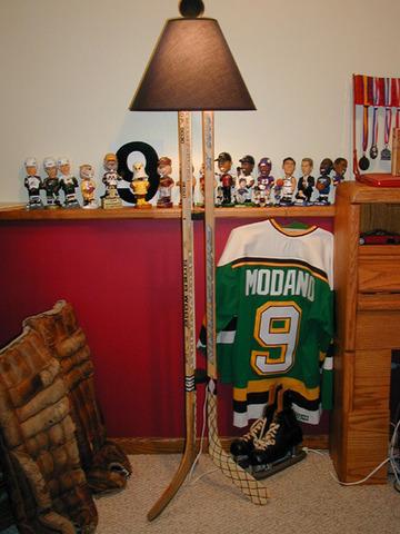 Ice Hockey Stick Lamp 1