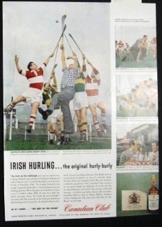 Hurling Ad 1958  Canadian Club