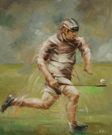 Hurling Painting 1