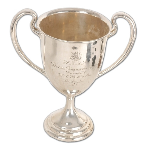 Montreal Aaa Pastimes Championship Trophy  1915