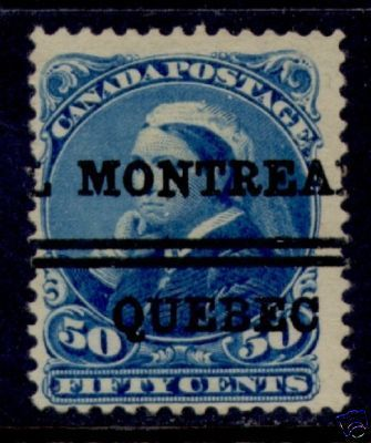 Stamps 1893 16 Montreal