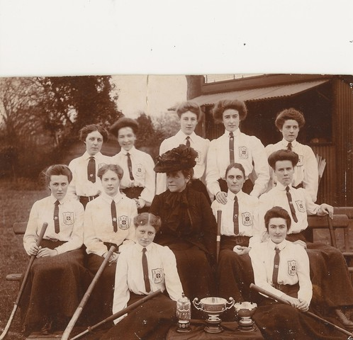 "Field Hockey Champions  ""Ladies""  Early 1900s"