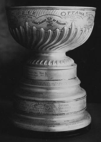 "Dominion Hockey Challenge Cup ""The Stanley Cup"""