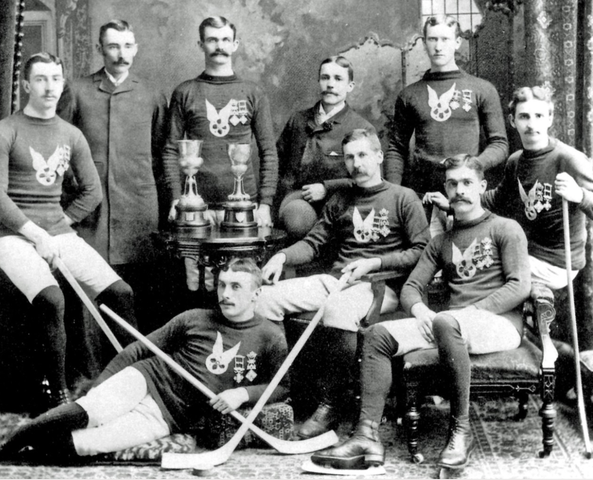 Montreal AAA - Montreal Winter Carnival Champions 1885 & 1887