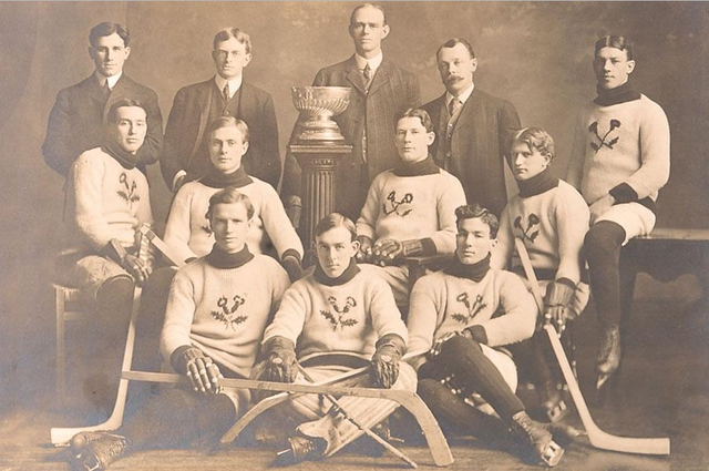 Kenora Thistles - Stanley Cup Champions - 1907 - January