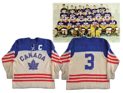 Team Canada Jersey 1955 Team Captain