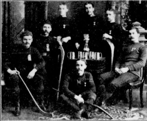 Montreal AAA -Montreal Hockey Club- 1885