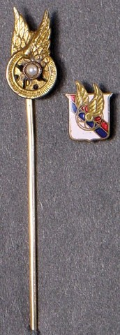 Montreal AAA Pin and Badge