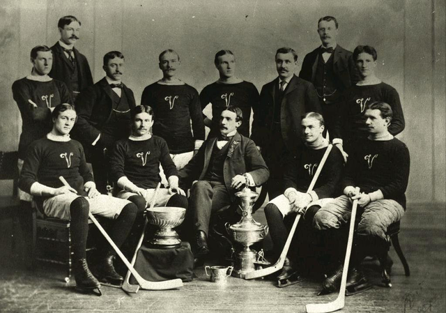 Montreal Victorias - Stanley Cup Champions - 1897