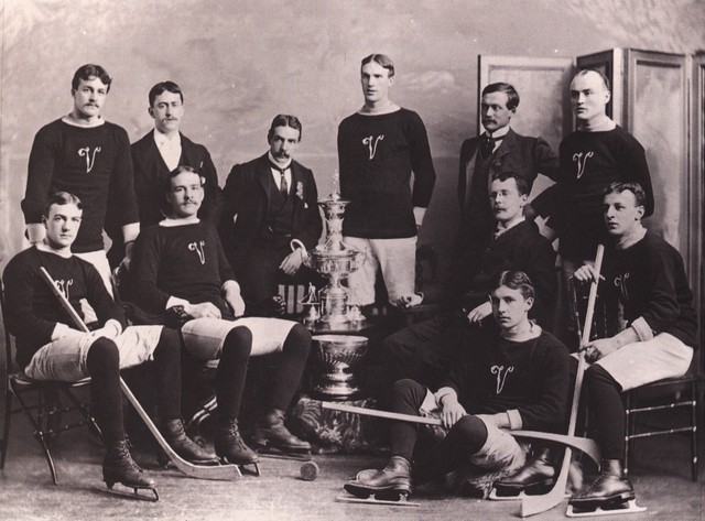 Montreal Victorias - Stanley Cup Champions - 1895