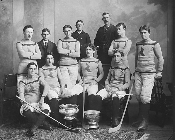 Montreal Shamrocks - 1899 - Stanley Cup Champions