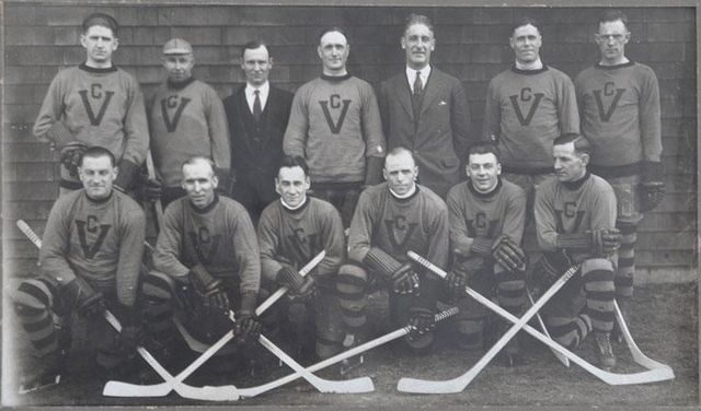 Victoria Cougars - Stanley Cup Champions - 1925
