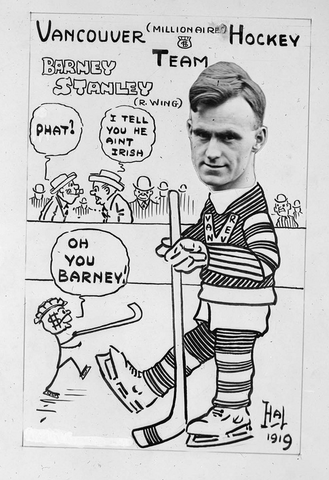 Vancouver Millionaires Barney Stanley