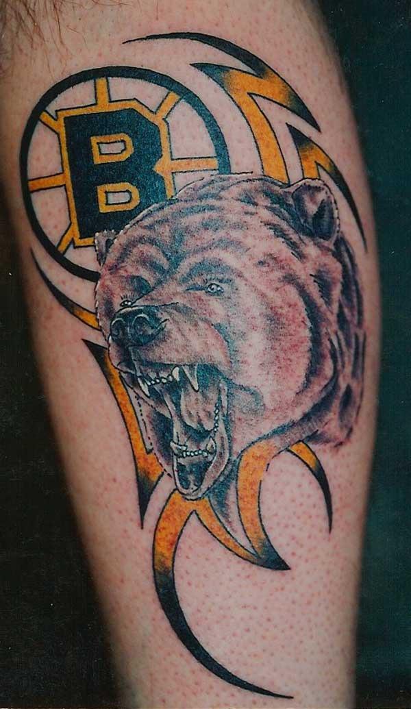 Boston Bruins Tattoo 1 Hockeygods