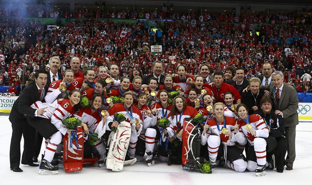 Team Canada Women - 2010 Winter Olympics Ice Hockey Champions