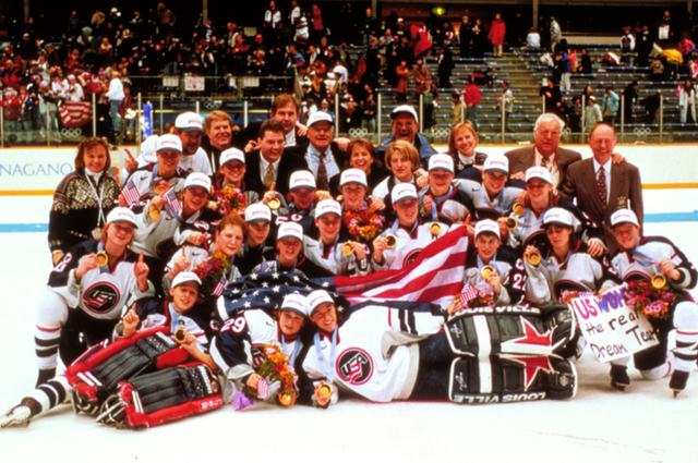 Team USA Women -  1998 Winter Olympic Champions