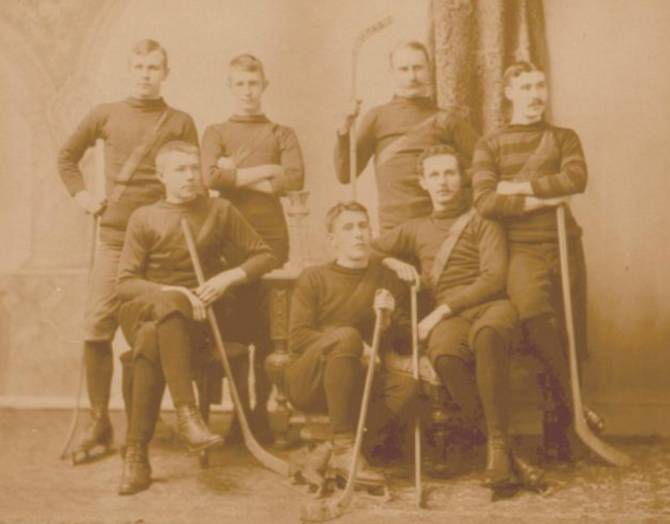 St. John Hockey Club, Champions of New Brunswick 1894
