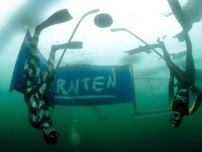 Underwater Ice Hockey -1