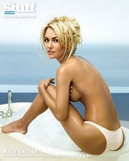 Ice Hockey - Wives/Girlfriends - Kelly Carlson  (Tie Domi)