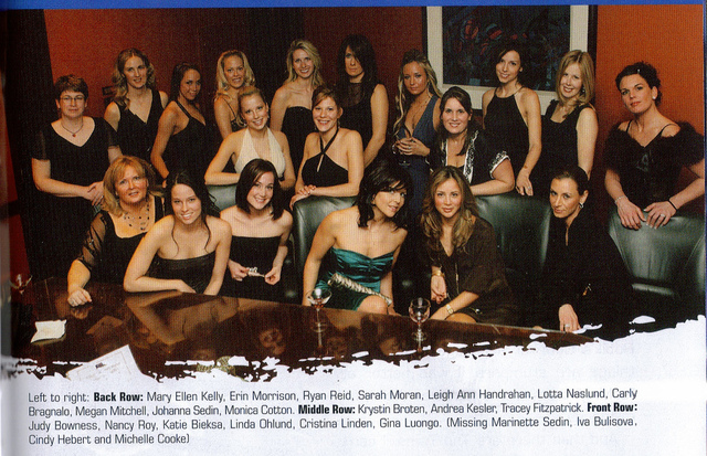 Vancouver Canucks - Wives - 2007