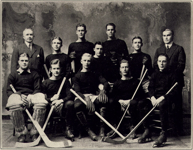 Princeton University Ice Hockey Team 1912