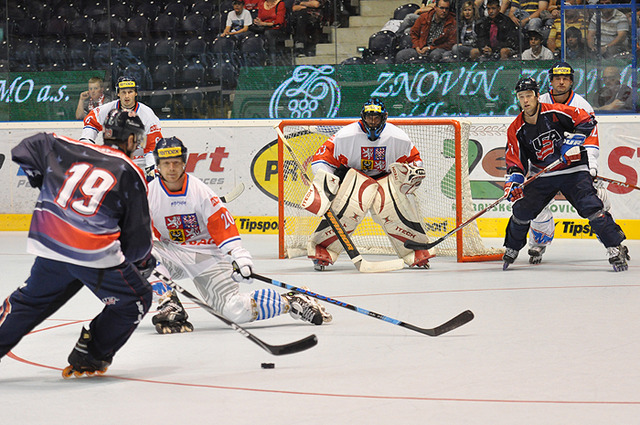 Czech Republic & USA in Gold Medal Game, Inline Hockey 2011