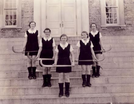Women's Field Hockey girls from Dickinson College 1933