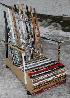 Hockey Stick Furniture  4