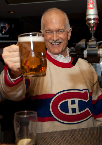A Toast to All Canadians from Jack Layton - Rest in Peace / RIP