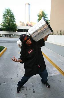 Lil Jon with The Stanley Cup