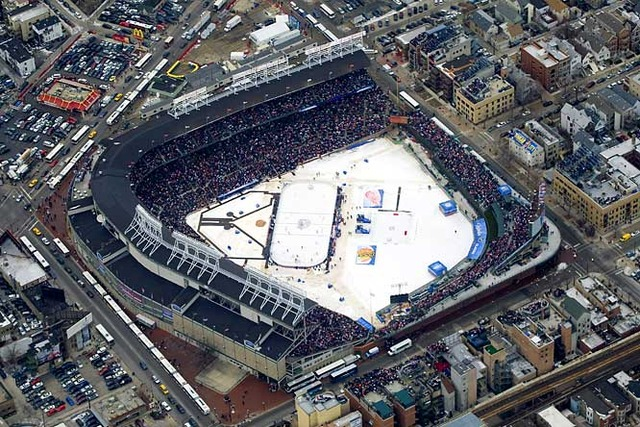 Winter Classic at Wrigley Field -  Red Wings Vs  Blackhawks