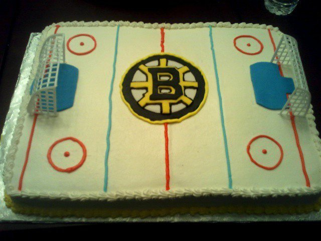 Boston Bruins Cake Hockeygods