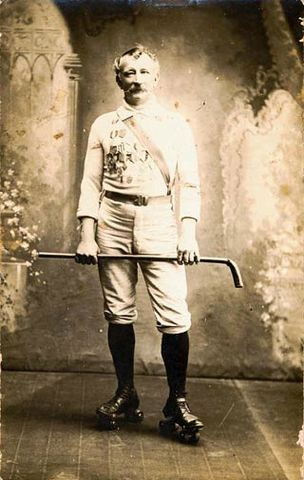 Francis Peter Charles Beyer Roller Polo Champion 1890s