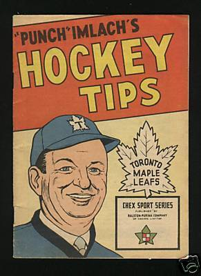 Hockey Booklet 1964 Chex Cereal 1