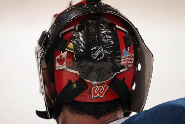 Too Cheap To Update His Mask = Duct Tape