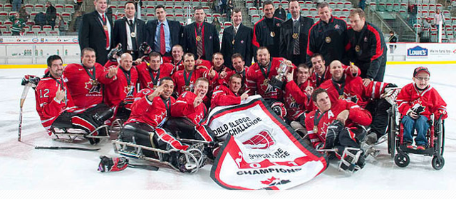 Sledge Hockey Team Canada - World Sledge Hockey Challenge - 2011