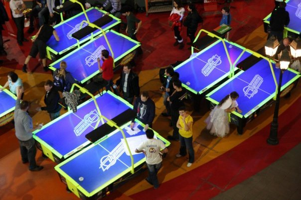 Air Hockey Tournament in Russia