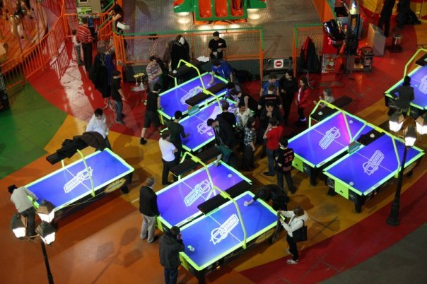 Air Hockey Tournament in Russia -2