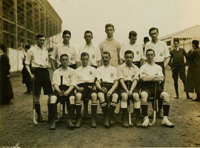 Olympic Field Hockey Champions - 1908 - England Hockey Team