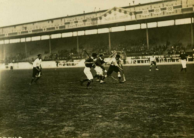 Olympic Games Hockey Action in 1908 London, England -1
