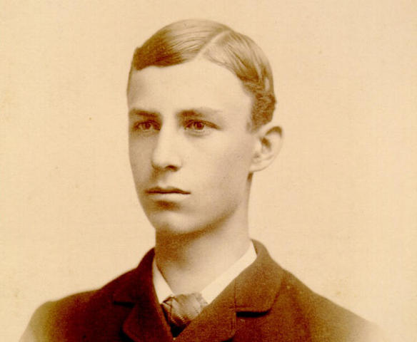 Wilbur Wright played Shinny as a young man