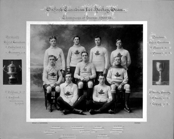 The Oxford Canadians - 1910 Champions of Europe