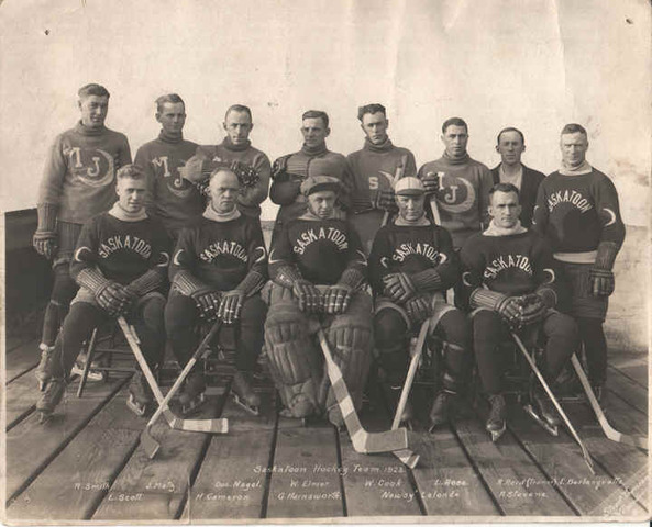 Saskatoon Crescents - Moose Jaw Crescents - 1923